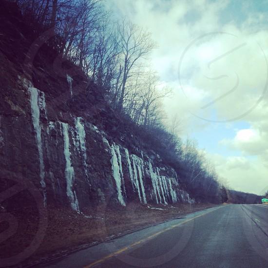 Iced falls photo