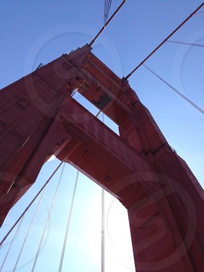 golden gate bridge arc photo