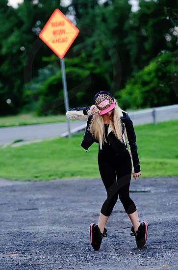 Hip Hop Dancer outdoors photo