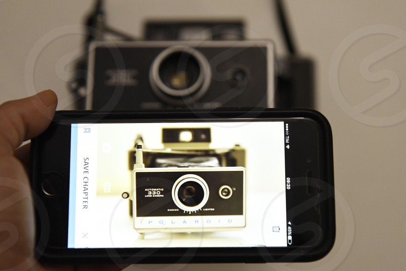polaroid old camera vintage photo