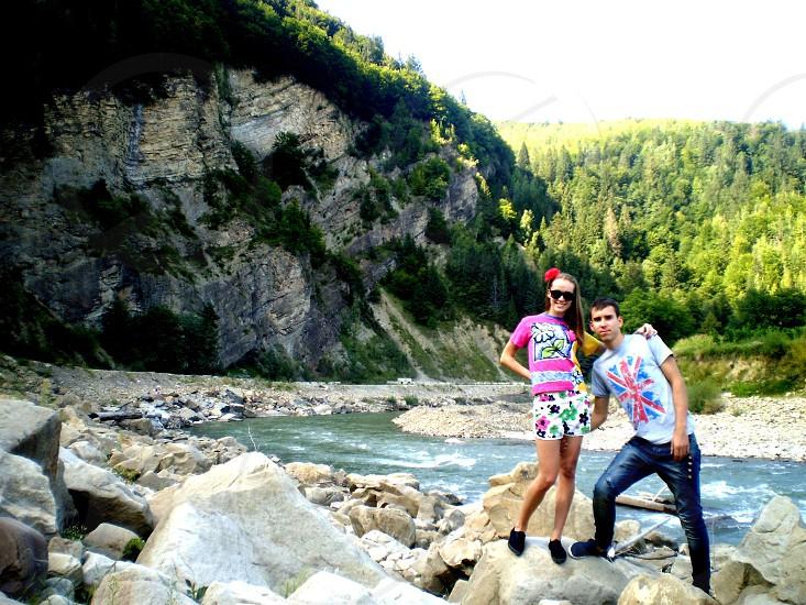 karpaten mountains Ukraine photo