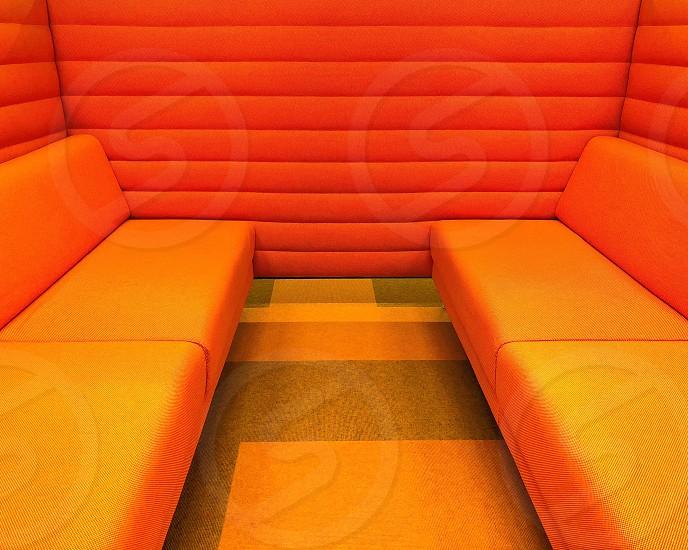 Vibrant modern furniture photo