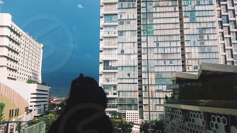 Gloomy Jakarta. photo