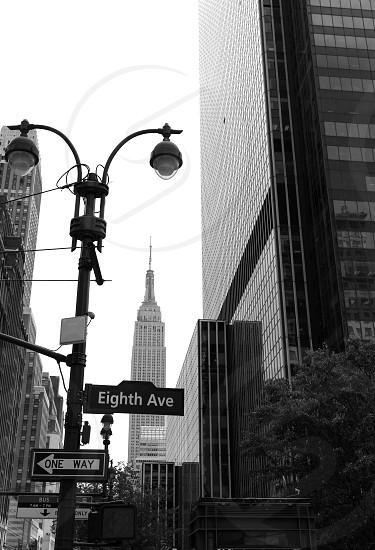 Manhattan 8th Av New York city downtown NYC US photo