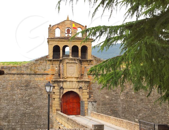 citadel Jaca Castle fortress military fort Huesca aragon Spain photo