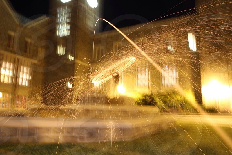 light trails photography photo