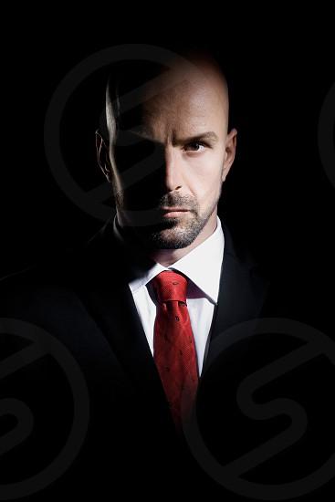Photo By Zorana Djordjevic Hitman Agent 47 Man Male Dark Shadows Bold Strong Business Suit Tie Attire Red Handsome Dangerous Light