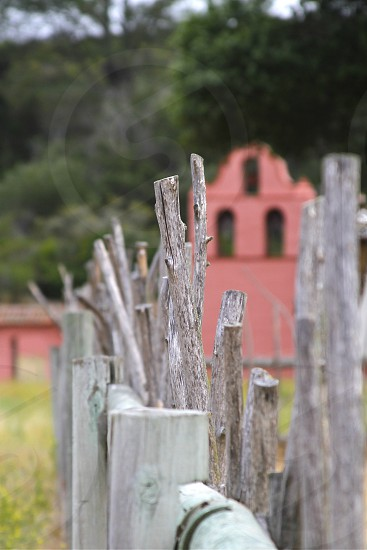 wooden fence photo photo
