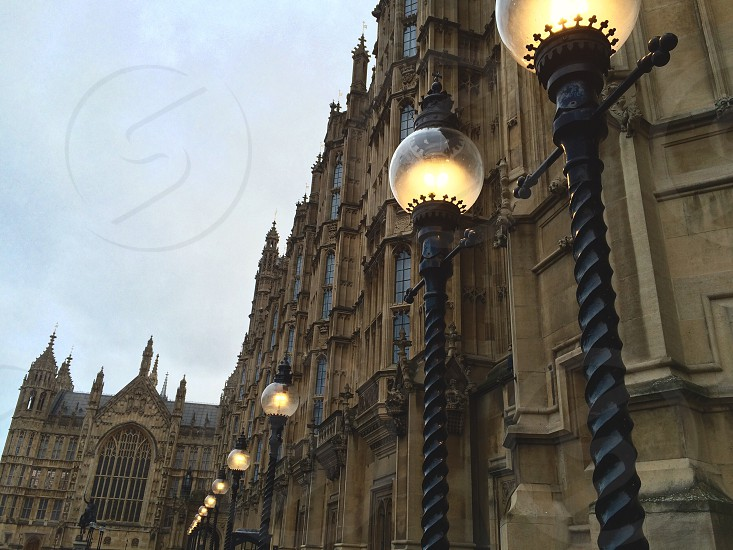 Parliament architecture London heritage culture photo