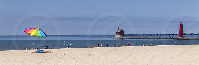 Summer in Grand Haven photo