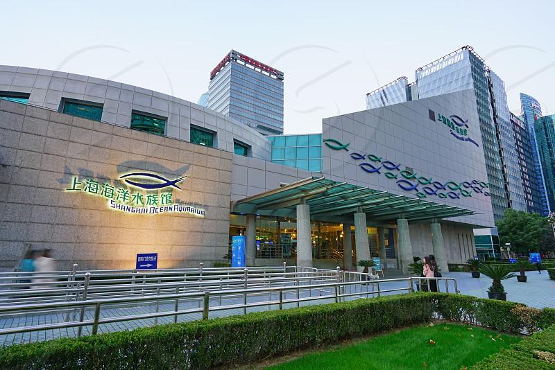 The Shanghai Ocean Aquarium in Shanghai China photo