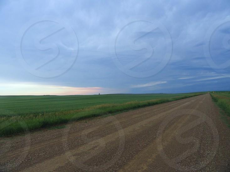 green field view photo