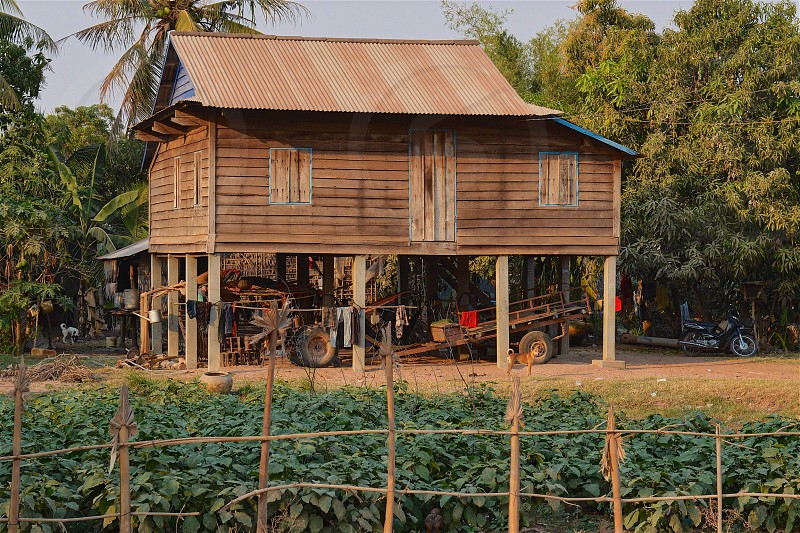 Cambodian Farm House photo
