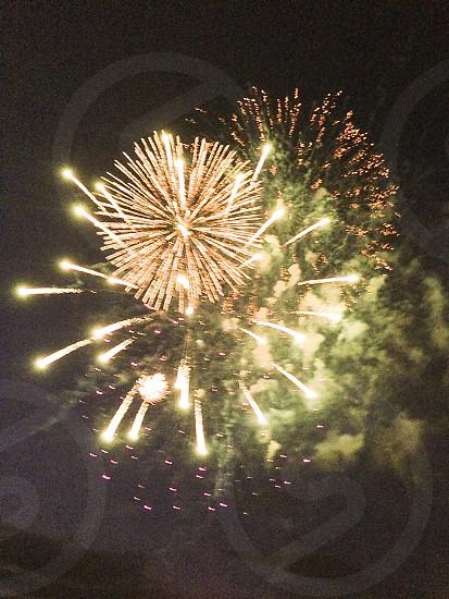 Fireworks. Beautiful. Big.  photo