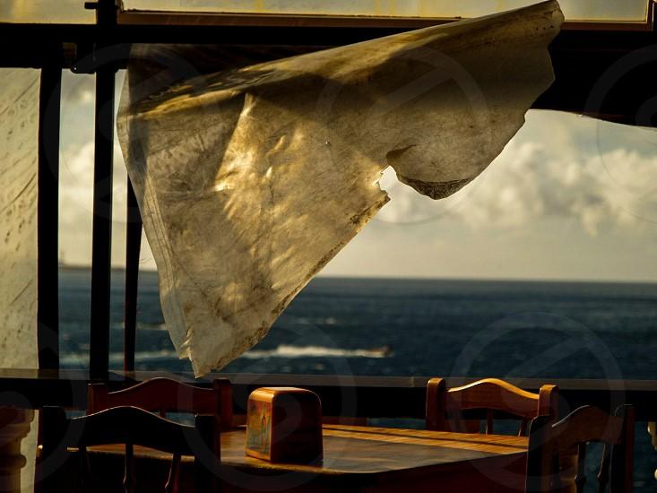 Wind cafe. photo