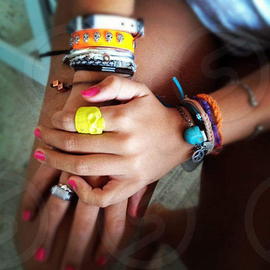 Arm candy photo