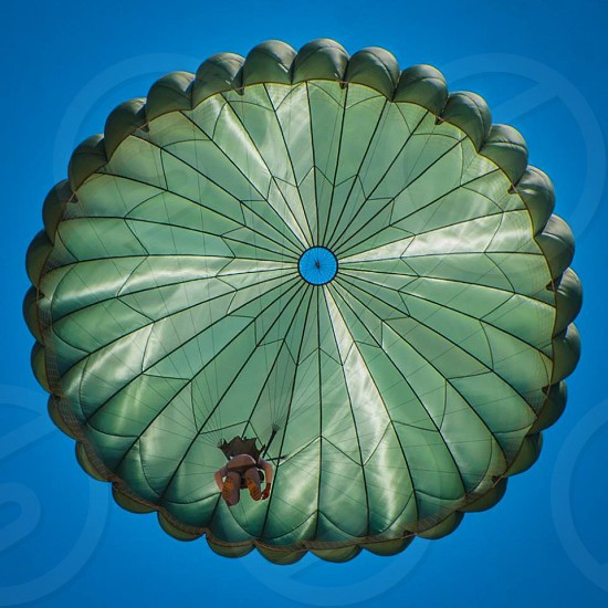 parachute shot photo