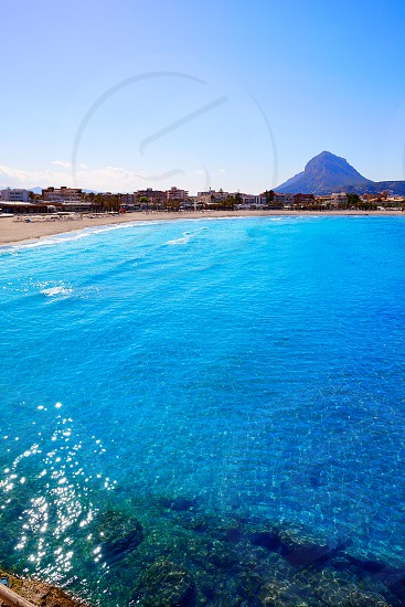 Javea Xabia Montgo in Alicante of Mediterranean Spain photo