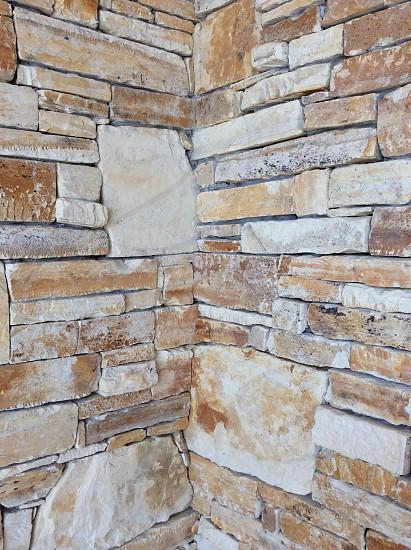 Carmel Stone Wall - architecture photo