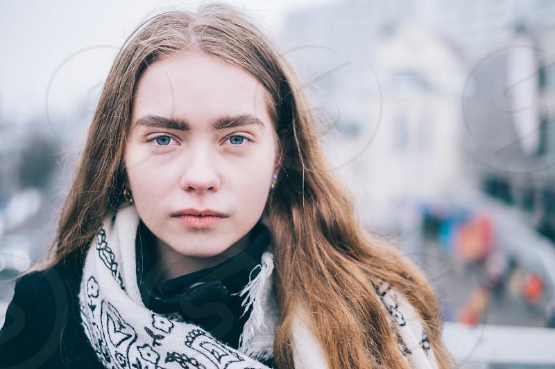 Street portrait photo