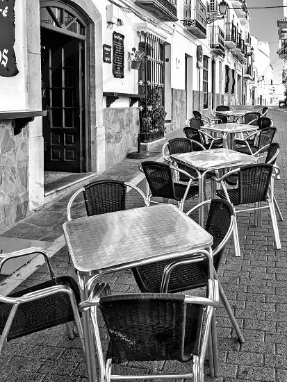 Street Scene in Casares photo