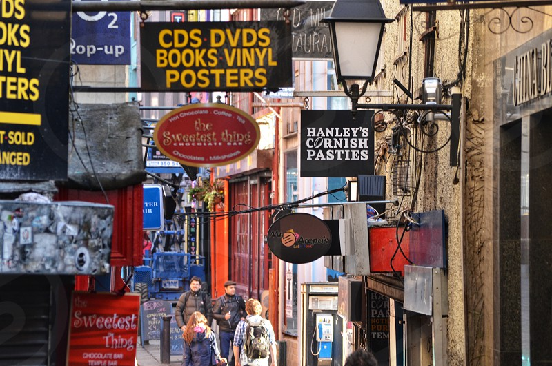 Dublin storefronts photo