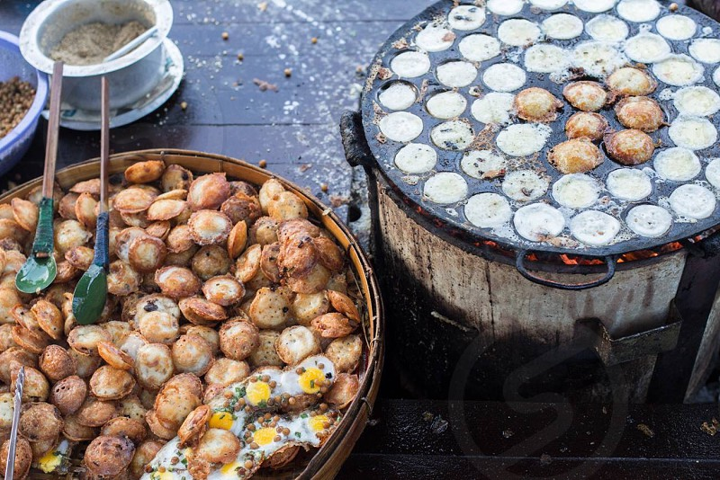 Street food from my travels in Asia.  photo