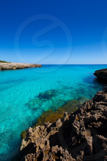 Menorca Cala des Talaier beach in Ciutadella at Balearic islands photo