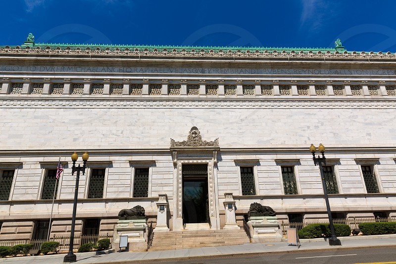 The Corcoran Gallery of Art building in Washington DC USA photo