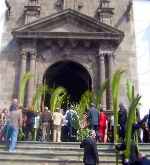 Palm Sunday  Las Palmas Canary Islands photo