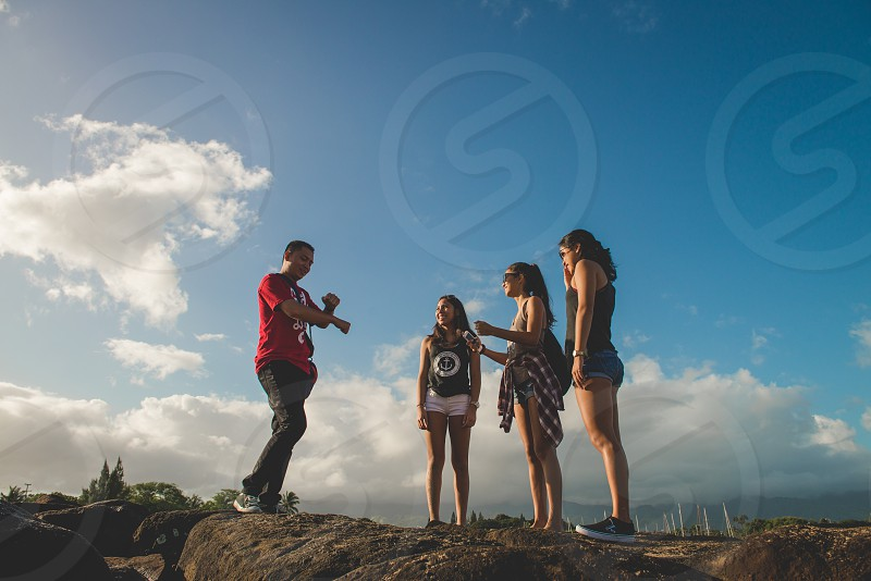 Family adventures on the island of Oahu. photo