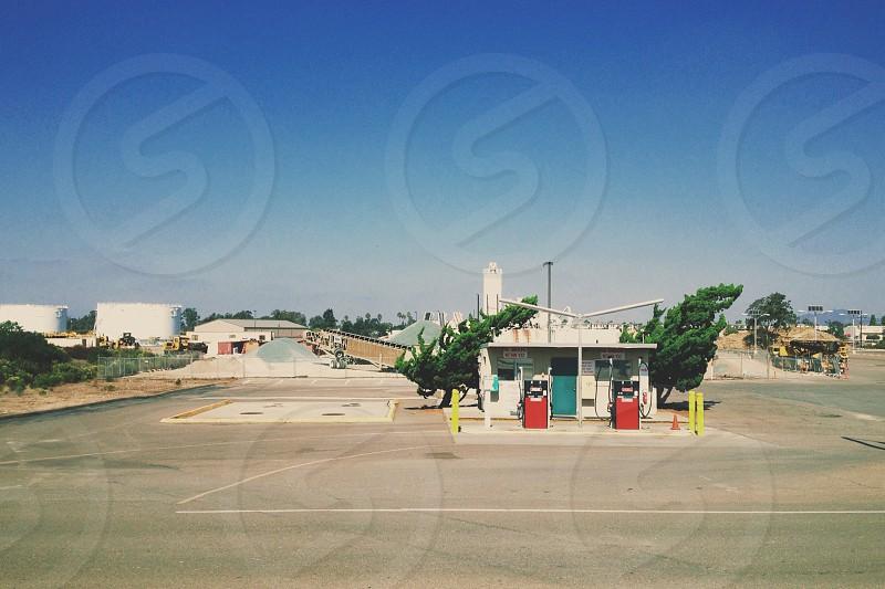 gasoline station photo