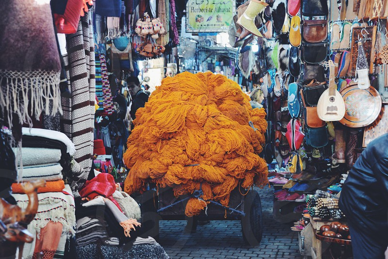 Marrakech Old Market  photo