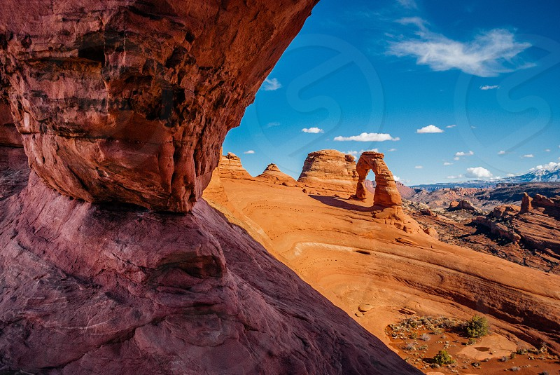 Delicate Arch from a different angle. photo