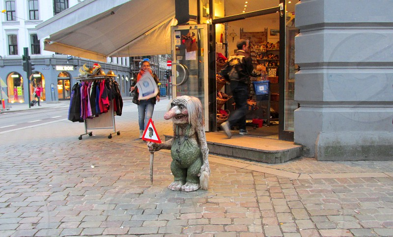 Troll - Oslo Norway photo