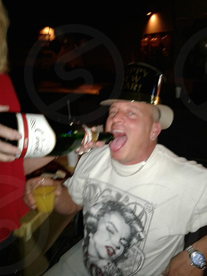 new years party animal photo