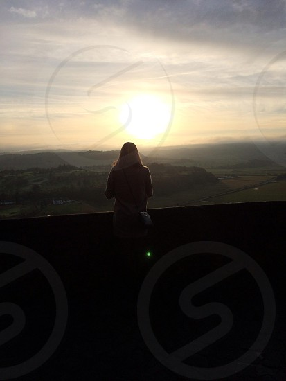 Sunset from Stirling Castle photo