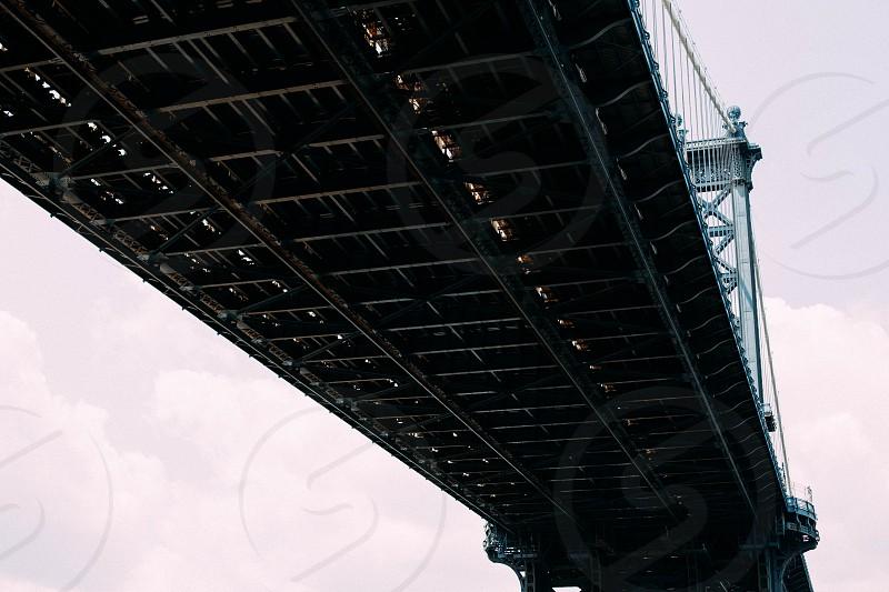 Brooklyn Bridge New York. photo