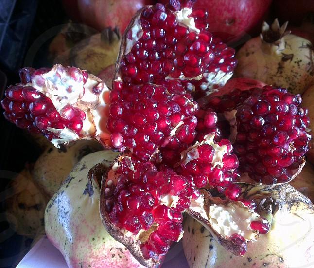 Olloclip Macro Images - pomegranate photo