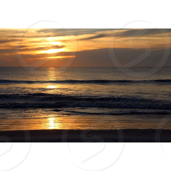 Sunrise at Jacksonville Beach FL photo