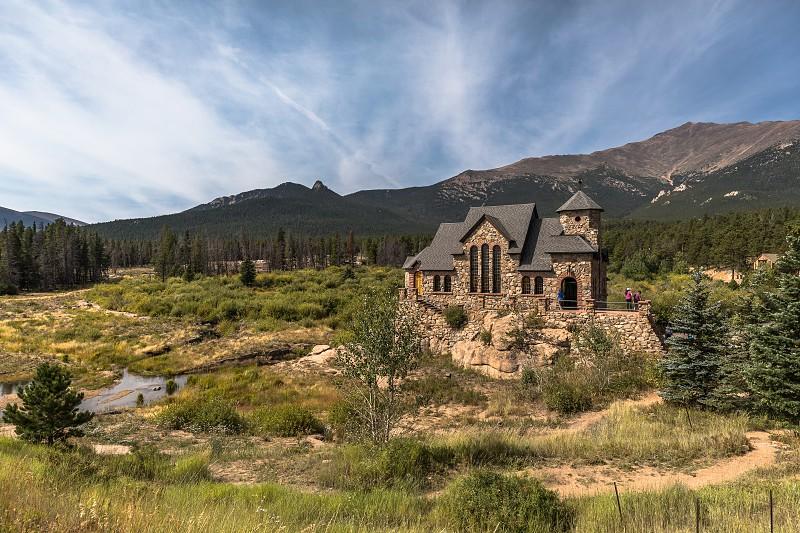 Impressions along the Peak to Peak highway in Colorado photo