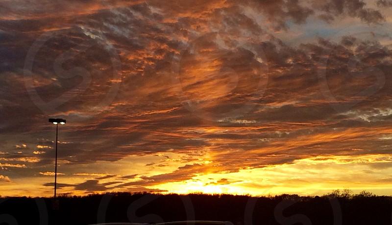 New York State sunset photo