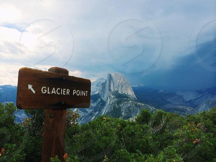 Glacier Point in Yosemite National Park photo