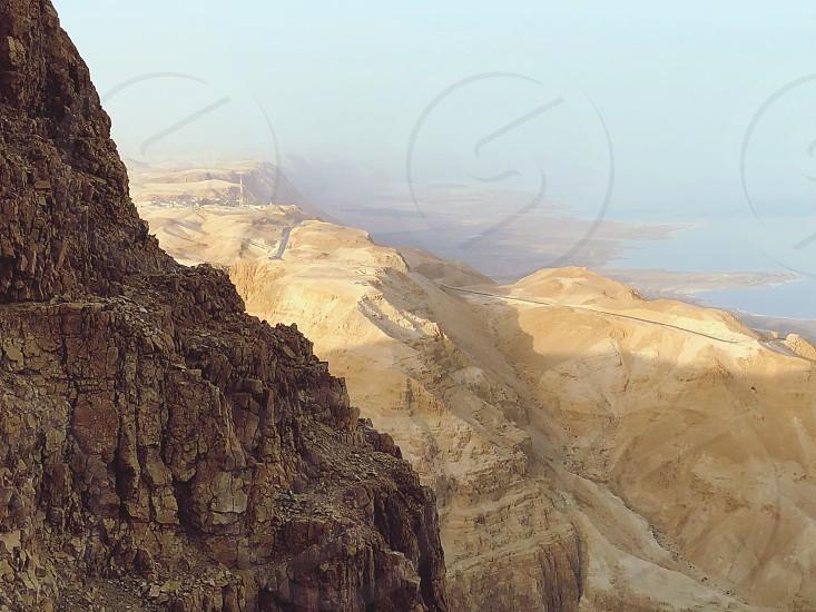 Desert Judea Sunset Adventure Travel Hiking  photo