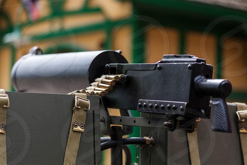 WW2 Machine Gun photo