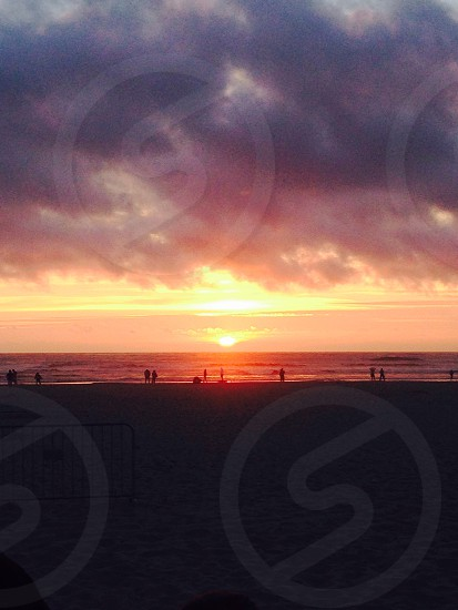 Sunsets at cannon beach  photo