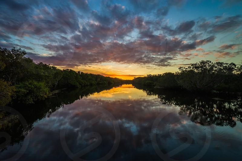 Kakadu Sunset Kakdu National Park Northern Territory Australia. photo