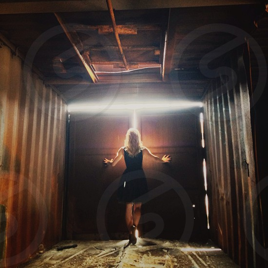 Towards the light photo