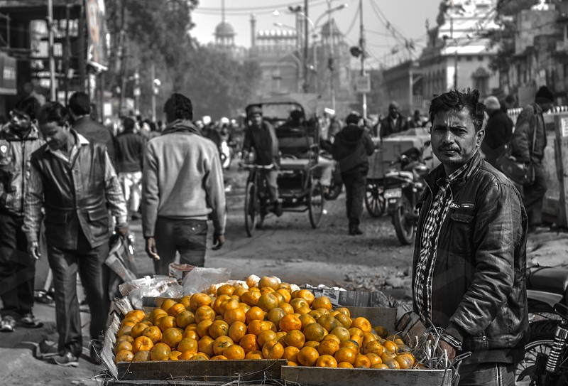 story fruit vendor india orange vendor fruit poor food eat health family worry market india beauty of india colors colors of india photo