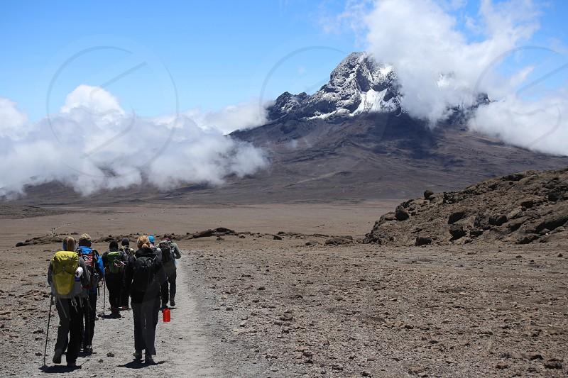 Trekking Kilimanjaro Tanzania photo